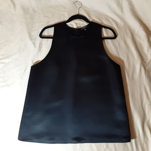 Babaton black sleeveless top size L